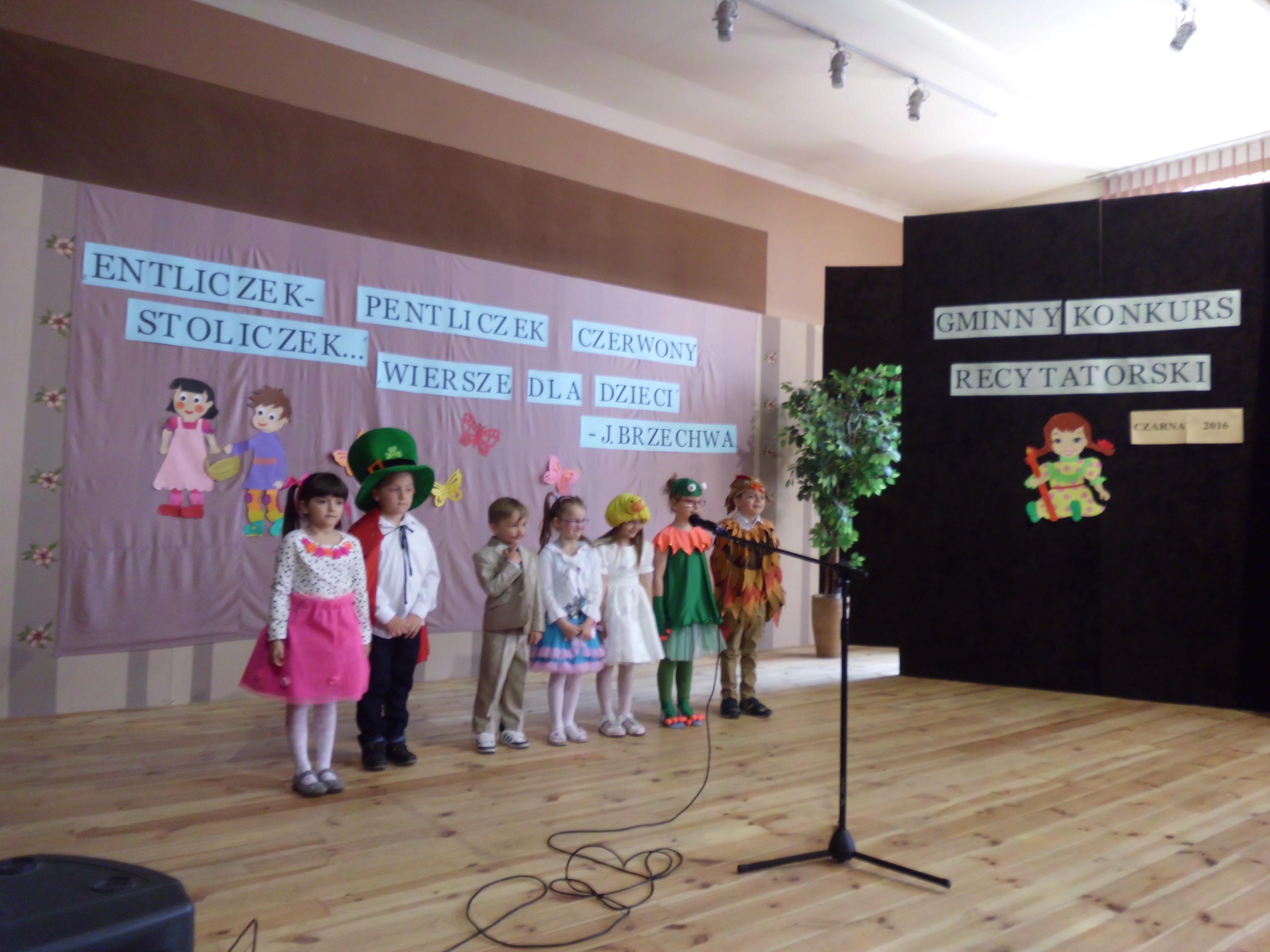 Konkurs Recytatorski Wiersze Dla Dzieci Jan Brzechwa